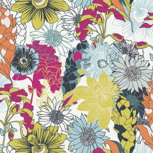 Fabric-flowers-pollinate-abundant-meadow